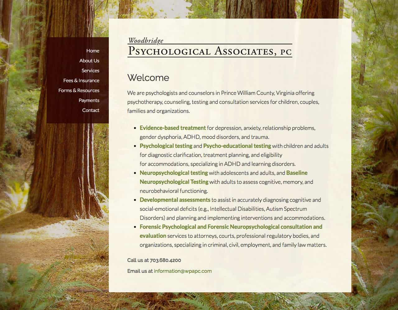 Woodbridge Psychological Associates, PC